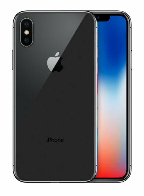 Apple Iphone X 256gb Space Gray Unlocked A1865 Cdma Gsm For Sale Online Ebay