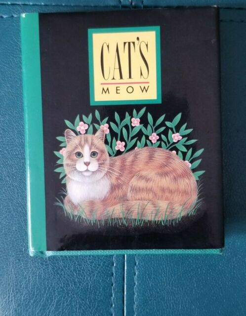 Cat's Meow Mini Book by Suzanne Beilenson