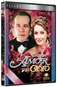 Entre-el-amor-y-el-odio-DVD-2006-2-Discos-ingles-subtitulos-Corte-UPC-nuevo