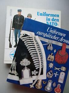 2 Bücher Uniformen europäischer Armen .. in den NATO-Staaten 1900 bis heute - Eggenstein-Leopoldshafen, Deutschland - 2 Bücher Uniformen europäischer Armen .. in den NATO-Staaten 1900 bis heute - Eggenstein-Leopoldshafen, Deutschland