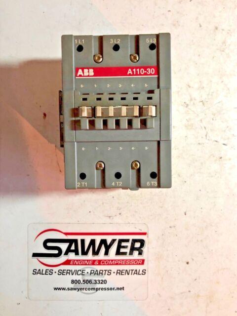 ABB A110-30 3 Pole Contactor 240v 480v 600v 160 Amp 110v