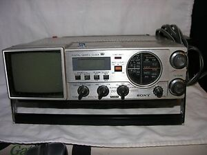 how to change clock on sony radio