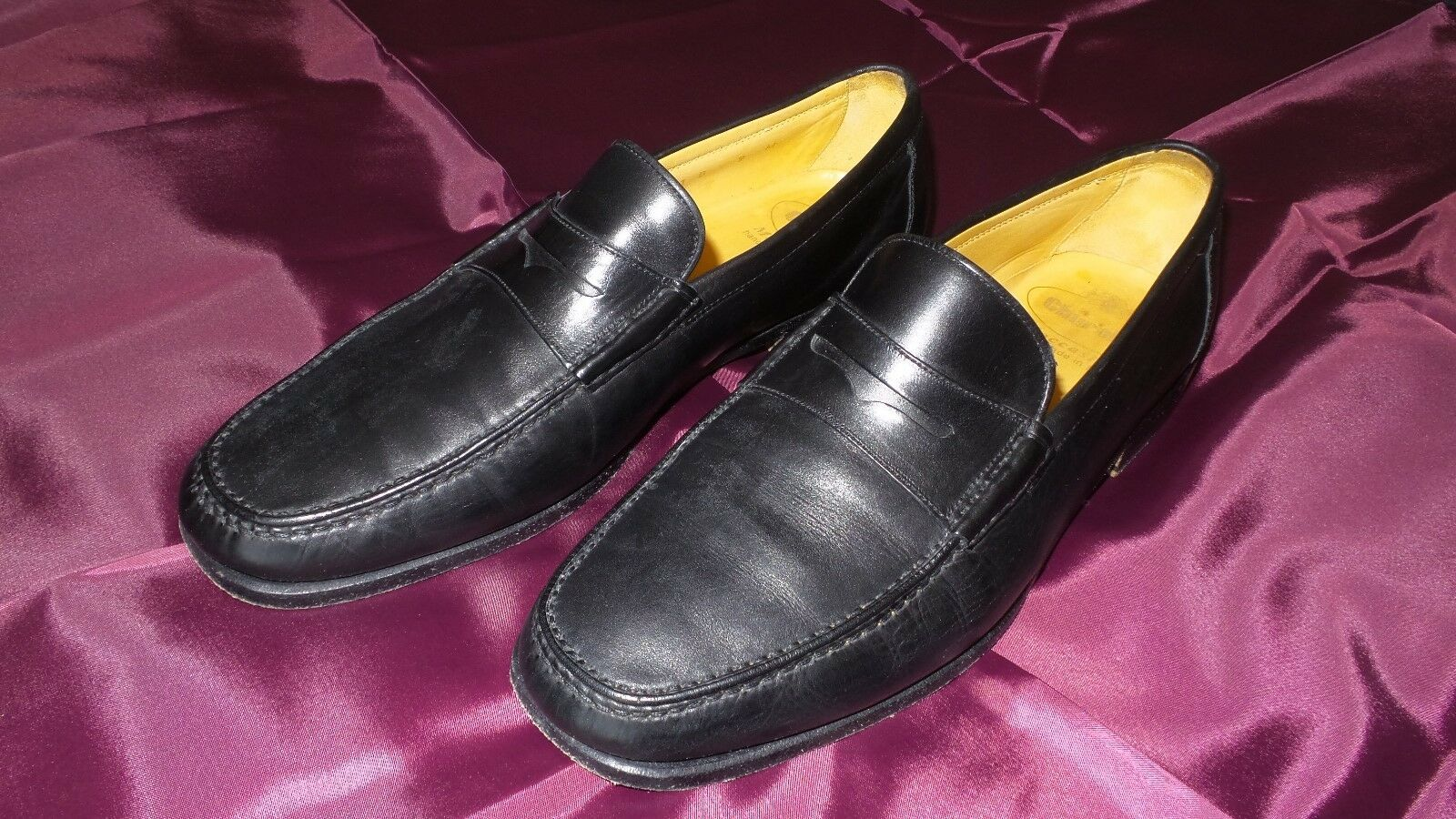 Church's Hand-made  Moccasins Loafers Slip Ons shoes Sz 9M 10M US Excellent