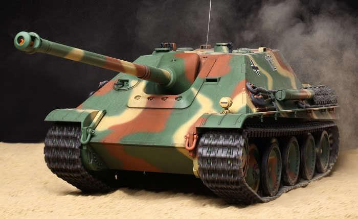 56024 Tamiya 1/16 R/C  JAGDPANTHER  Full-Option WWII German Heavy Tank Model Kit