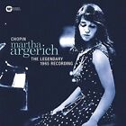 Martha Argerich Plays Chopin: The Legendary 1965 Recording LP (Vinyl, Jun-2016, Warner Classics (USA))