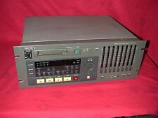 Sony PCM-800 8-Channel Digital Multitrack Audio Recorder Player DAT