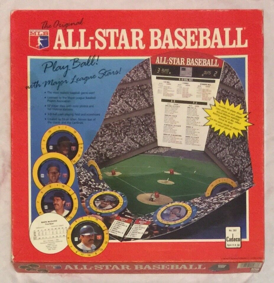 Die original - all - star - team cadaco 283 brettspiel