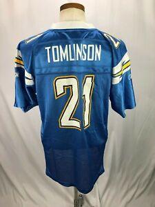 save off da35a ef9d2 Details about LaDainian Tomlinson San Diego Chargers Reebok NFL Jersey  Women's XL 18-20