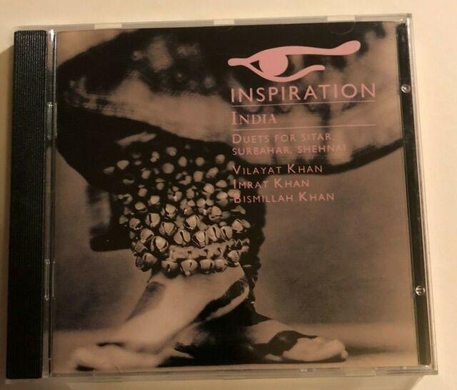INSPIRATION India/Duets For Sitar, Surbahar, Shehnai (CD, like new) EMI Classics