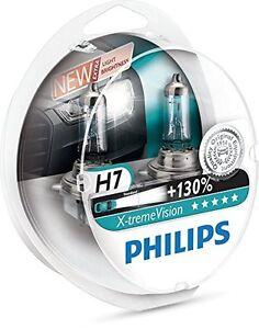 2-x-Bombillas-Philips-X-Treme-Vision-H7-130-Extreme-Xtreme-Faros-Audi-Mercedes