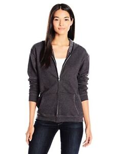 Hanes-Womens-Activewear-Full-Zip-Hooded-Jacket-L-Select-SZ-Color