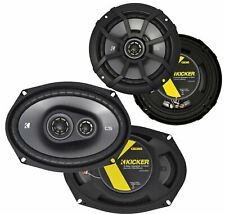 Kicker CS Series 6.5'' + 6x9'' Car Speakers, CSC65 + CSC693 -43CSC654 / 43CSC693
