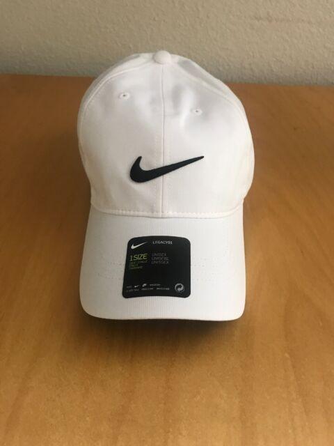 (BRAND NEW) Nike Golf Hat Legacy91 Dri Fit Tech Logo Cap Unisex Men's  Women's