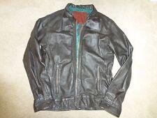 Superdry Mens Leather Jacket XXL