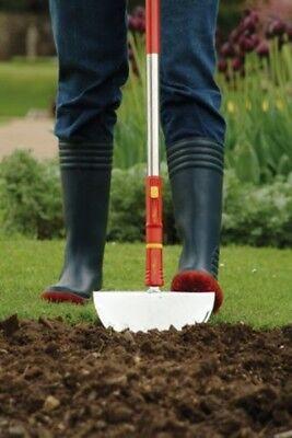 WOLF Multi-change Lawn Edging Iron Self Sharpening Blade Quality Garden Tool New