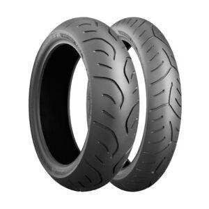 Motorcycle Tyres Bridgestone T30 Evo 120/60/ZR17 & 160/60/ZR17 Pair Deal *New*