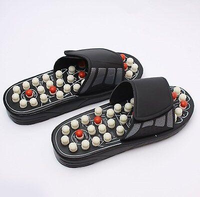 Mens Acupressure Acupuncture Massage Slipper Shoes Feet Sole Massager Sandal