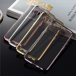NEW-Silicone-Rubber-Clear-Case-Cover-For-Samsung-Galaxy-S8-S8-plus