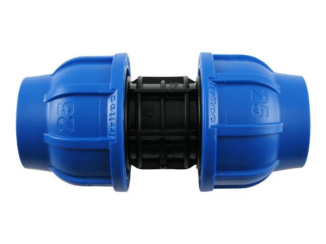PE Rohr Verschraubung beidseitig 110 mm
