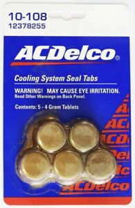 ACDelco-10-108-Cooling-System-Sealing-Tabs-GM12378255