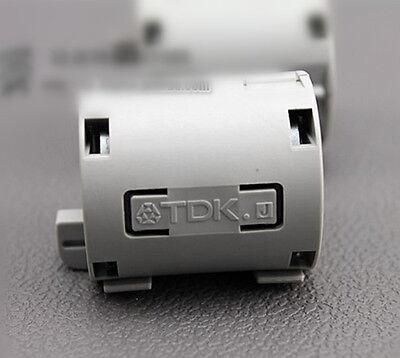 1pc TDK 13mm Clip On EMI RFI Filter Snap Around Ferrite  ZCAT3035--1330