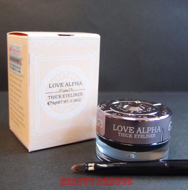 Love Alpha LA245 Professional Waterproof Thick Eyeliner Gel Color Black