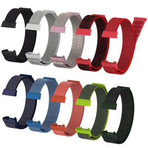 Wristband-Breathable-Wrist-Strap-Nylon-Fiber-Band-For-Fitbit-Charge-3