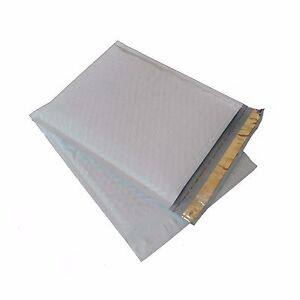 """New 25 #000 4/""""x8/"""" poly Bubble Mailers Padded Envelopes"""