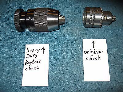 NEW HEAVY DUTY 3//4 DRILL CHUCK UPGRADE FOR DELTA 70-200 DRILL PRESS