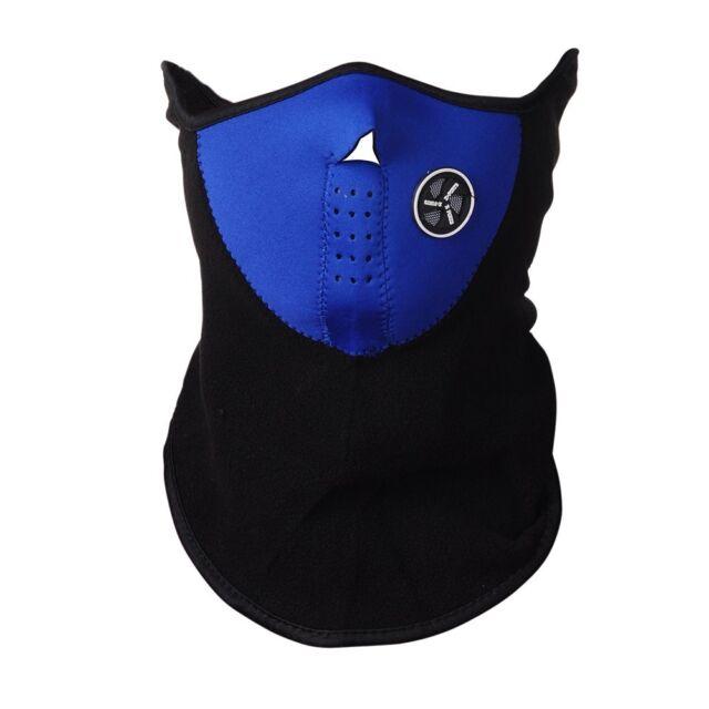 Blue Scarf Face Mask Neck Warmer Snood Balaclava Ski Snowboard Fishing Motorbike