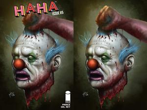 HAHA #5 David Sanchez Two Book Virgin Variant Set Image Comics LTD 500/600