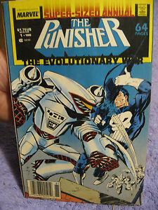 Vtg Punisher #1 comic book 1988 super sized annual superhero Evolutionary War