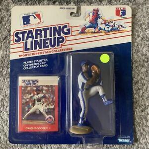 NIB 1988 Starting Lineup MLB New York Mets Dwight Gooden Baseball Toy