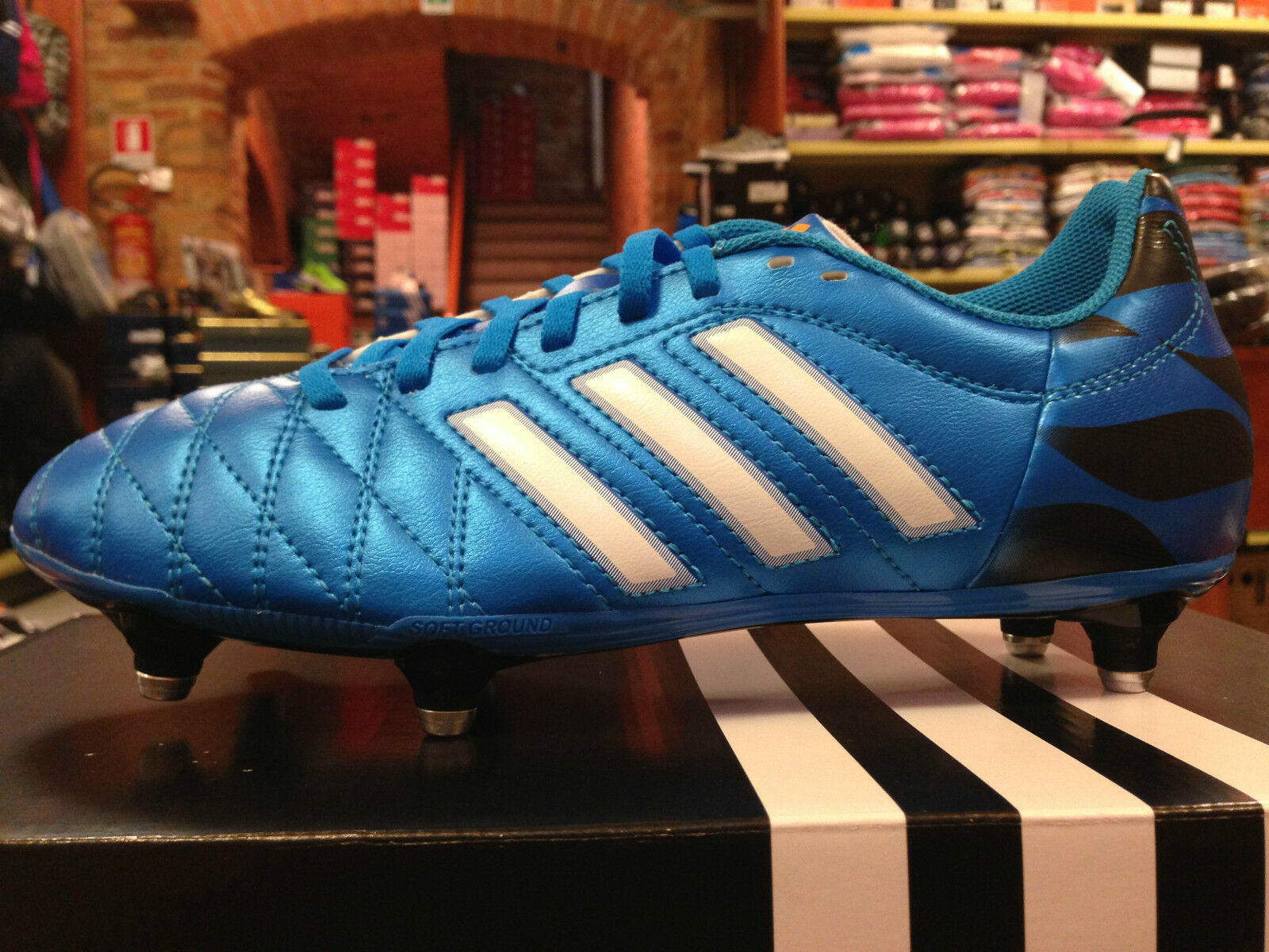 Herren Schuhe Fußball ADIDAS 11 QUESTRA SG art.M29854 6 TACC. Twist-up Leder SYN
