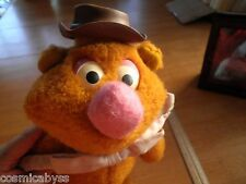 """The Muppets 1978 Fozzie Bear Fisher-Price 851 plush doll 13"""" HTF Muppet Show"""