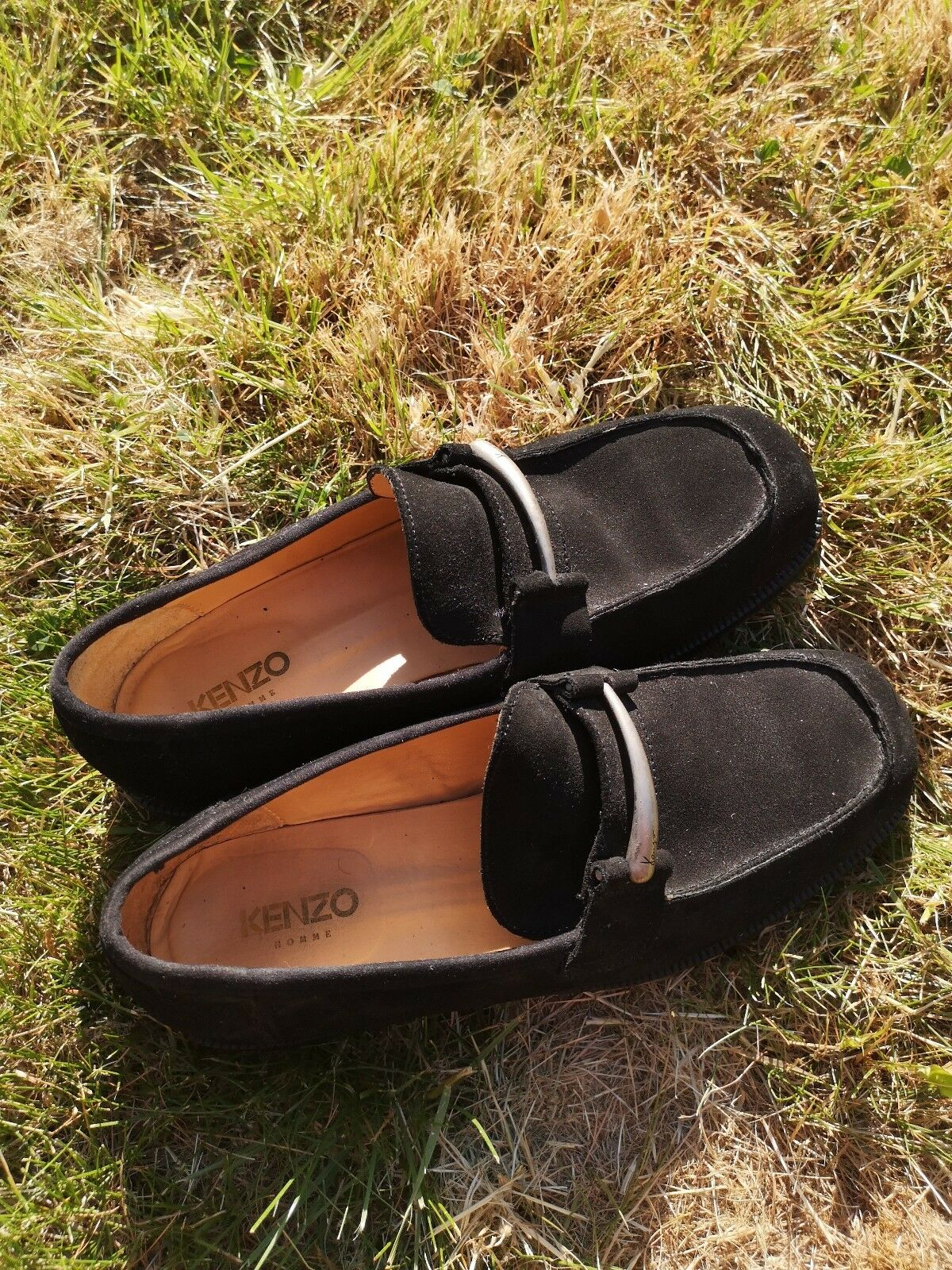 Kenzo Homme Suede Loafer Shoes 9