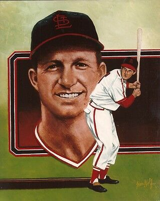 Stan Musial St Louis Cardinals 1960 Posed Photo 8x10