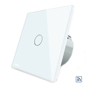 Livolo-Blanc-Verre-Panneau-Telecommande-amp-Touch-Switch-EU-Standard-VL-C701R-11