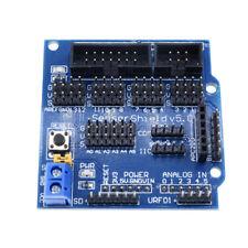 Sensor Shield V5 V50 For Arduino Apc220 Bluetooth Analog Module Servo Motor New