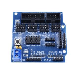 SENSOR-Shield-V5-V5-0-per-APC220-Bluetooth-analogico-Arduino-Modulo-Servomotore-NUOVO