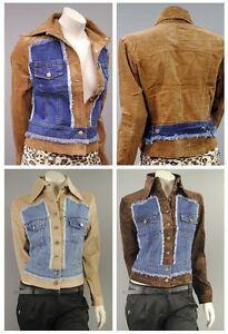 stylische vintage damen jacke kordjacke kord baumwolle jeans jeansjacke jk02. Black Bedroom Furniture Sets. Home Design Ideas