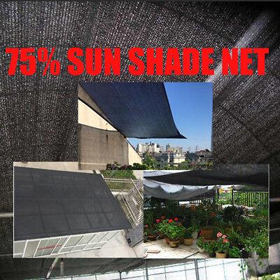 Garden HDPE Sun Shade Sail Shelter Carports Cover Awning Canopy Protector Net