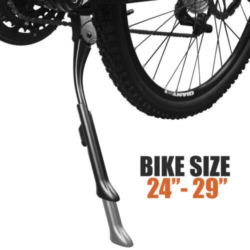 "BV Mountain Bike Kickstand Center Mount Plate Alum Alloy MTB Kick Stand 24/""-29/"""