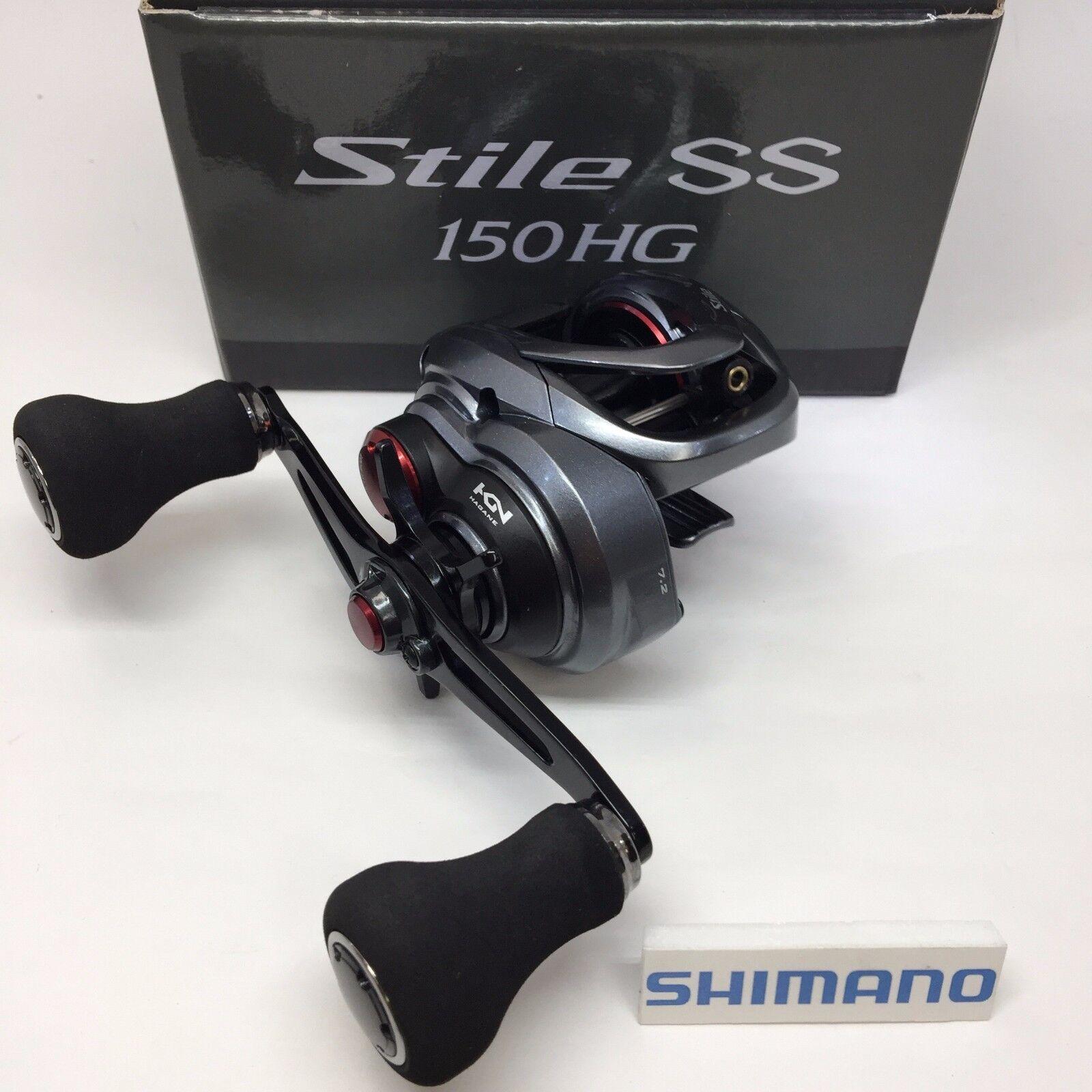 Shimano 17 stile SS 150HG con il pulsante destro del mouse dal Giappone