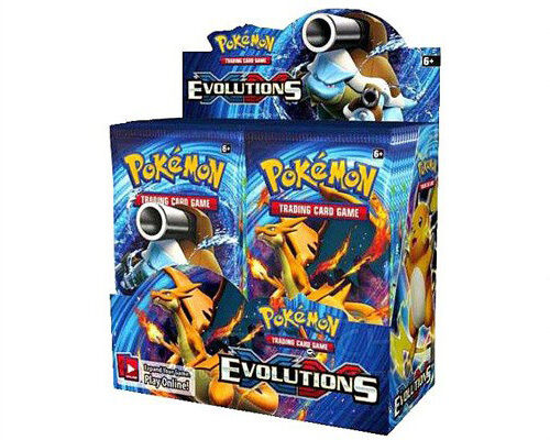 Pokemon XY Evolutions Trading Card Game Booster Box New//Sealed