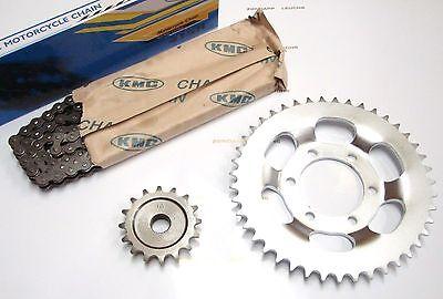 Zündapp Kettensatz 17/36 + Kette gr.Fv.gerade 6 Loch GTS 50 C 50 Sport Typ 529