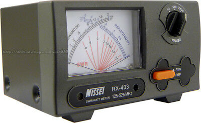 NISSEI VHF UHF CROSS NEEDLE POWER SWR METER for KENWOOD YAESU ICOM HYS  Leixen   eBay