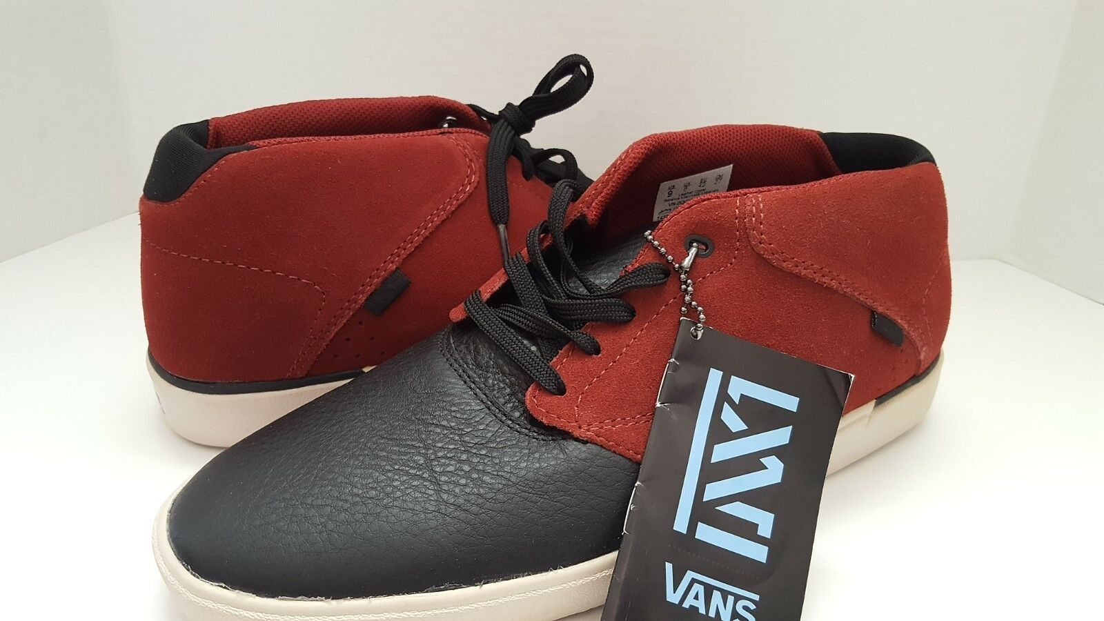 New Secant Vans Man's Secant New Pelle Stivali Shoe Sz 8 or Sz 9 c47ee1