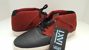 New-Vans-Man-039-s-Secant-Leather-Boots-Shoe-Sz-8-or-Sz-9