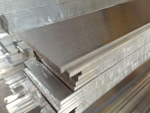 Aluminium Flat Bar 10-65 mm Width 2-50 mm Thickness choose Length